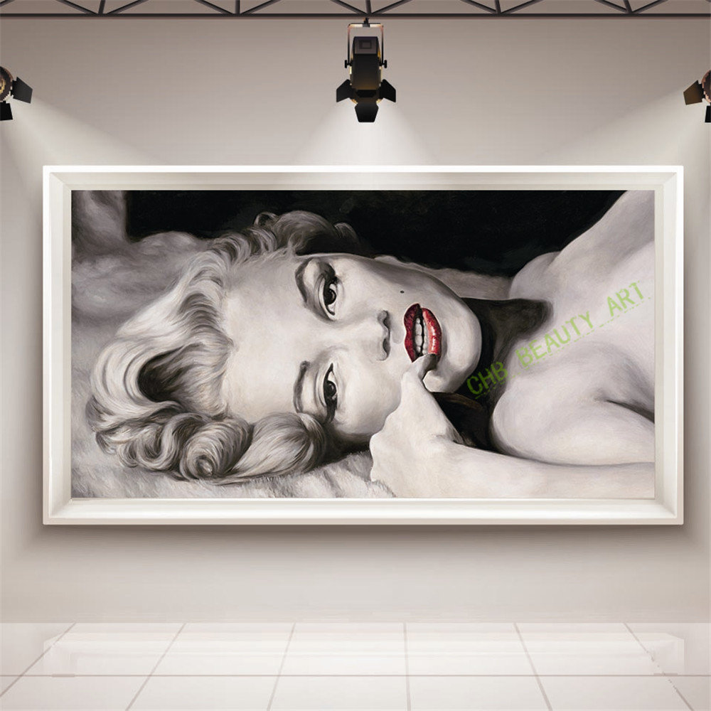 Marilyn Monroe Living Room Decor Canvas Marilyn Monroe Promotion Shop For Promotional Canvas