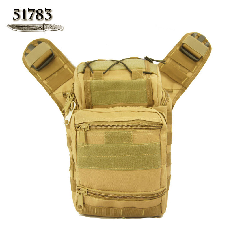 HOT! 51783 outdoor bag Camouflage one shoulder cross-body waist pack multifunctional tactical  -  Brand discount store- store