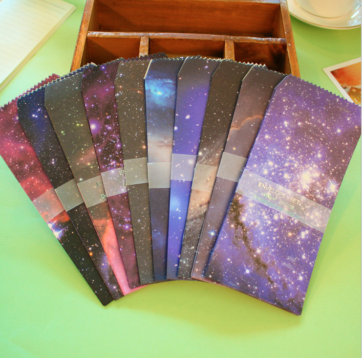 25 pcs/lot Cute Korea stationery creative envelope Starry Star style envelope wholesale school supplies free shipping 723<br><br>Aliexpress
