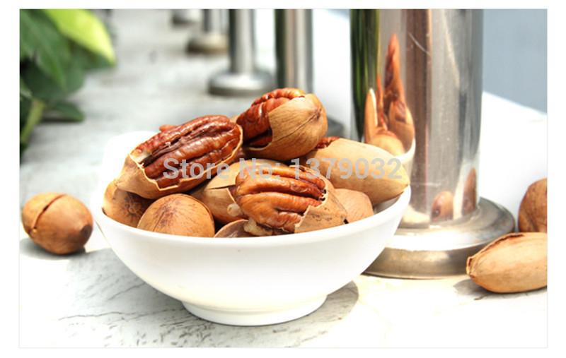Гаджет  Free shipping! cream taste Snacks nut hichory nut walnut nut macrobian Nut & Kernel fruit pecan 250g/bag 500g/bag None Еда