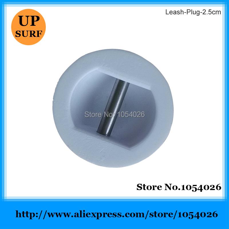 Surfboard Leash Plug SUP Board Leash Plug 2.5CM White Plug Leash(China (Mainland))