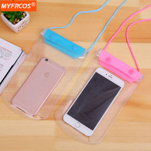 Buy Waterproof Mobile Phone Bags Pouch Cases Dry Transparent Cover iPhone 7 i6 LG Samsung Galaxy S7 Xiaomi Underwater Case for $3.97 in AliExpress store