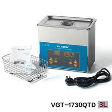 3L настольная медицинской ультразвуковой очистки для очистки протезов, Стоматологическая лаборатория оборудование для очистки китай производство вгт-1730qtd