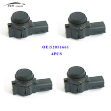 Buy 4PCS New Brand 52051661 PDC Parking Sensor Bumper Reverse Assist Fits GM 0263013810 for $65.15 in AliExpress store