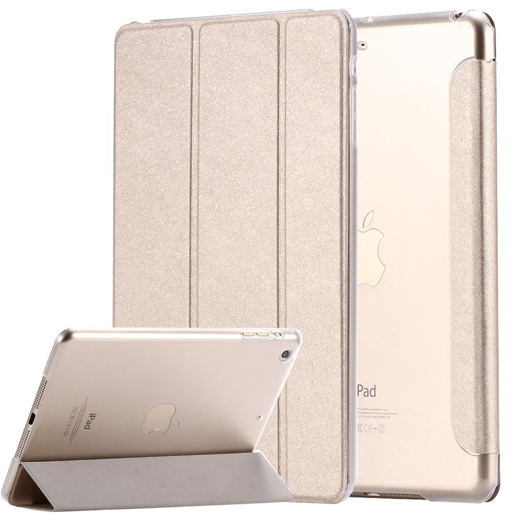Гаджет  Elegant Leather Case for ipad Air2  For ipad 6 Stand Flip Ultrathin Transparent Clear Luxury Cover Cases For Apple iPad Air 2 None Компьютер & сеть