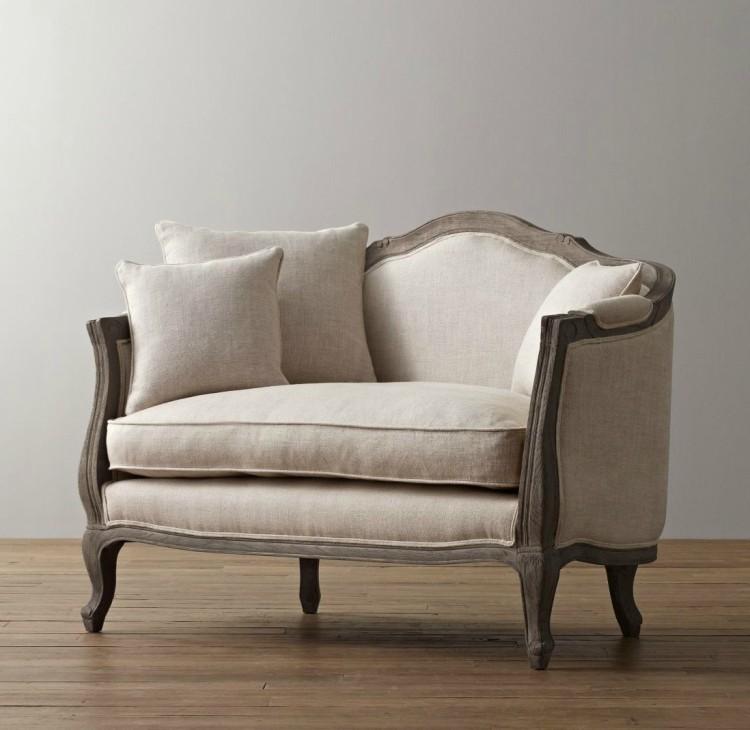 French american nordic style furniture retro linen solid for American living style furniture company
