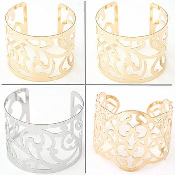 Панк Pulseiras FeМиниna пирсинг золото посеребренная манжеты браслеты и браслеты ...