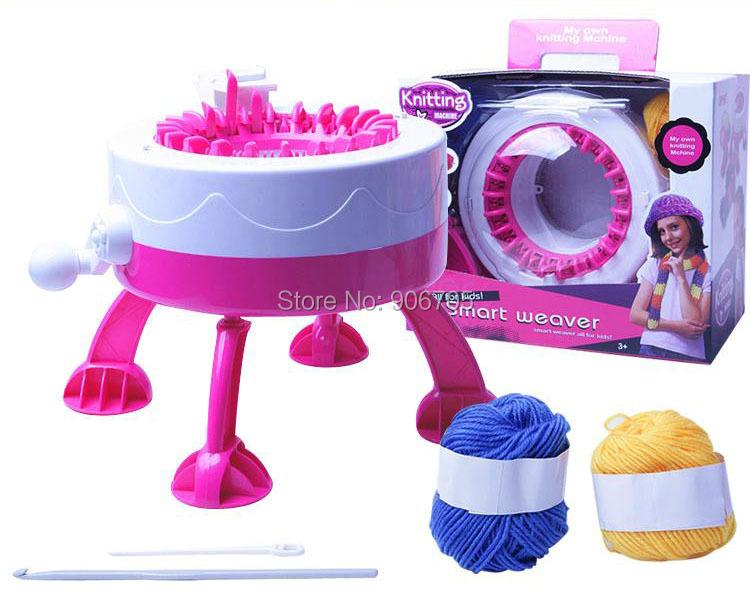 New smart weaver machine knitting machine toys, DIY Sweater,Intelligence singer knitting machine educational toys for children<br><br>Aliexpress