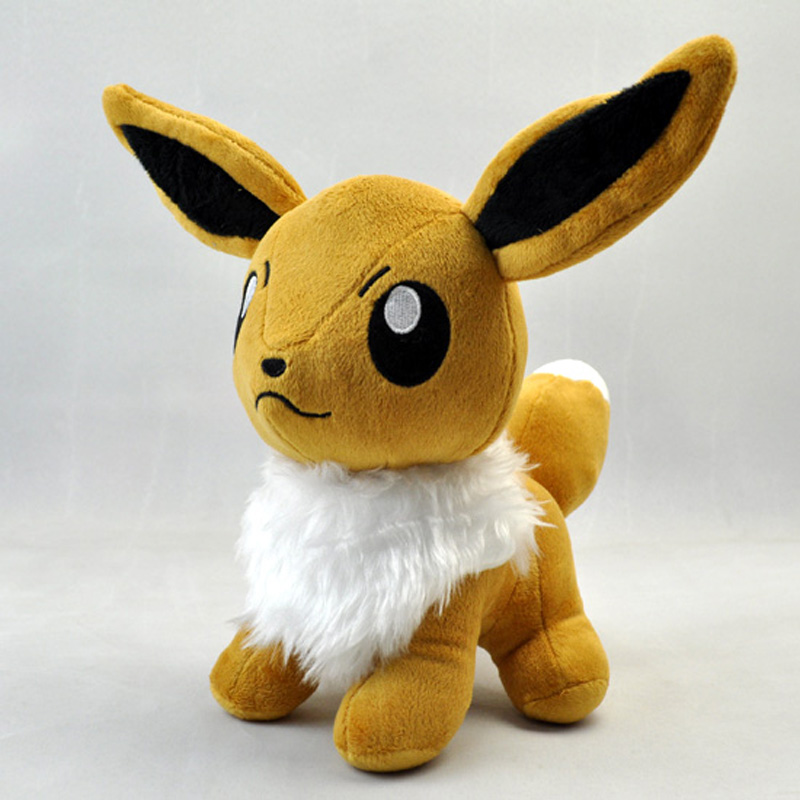 Pokemon Eevee Plush Toys Doll Big Size 28cm Stand Pocket Monster Eevee Stuffed Plush Toys Figure Collectible Toy Gift for Kids<br><br>Aliexpress