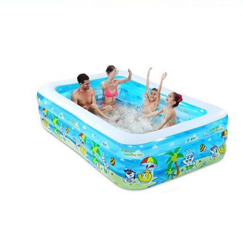 Cheap Large Family Tricyclic Inflatable Pool Summer Water Swimming Play Inflatable Swimming Pool