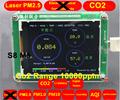 S8 M5 CO2 Sensor PM2 5 PM1 0 PM10 Co2 detector PM2 5 dust haze Laser