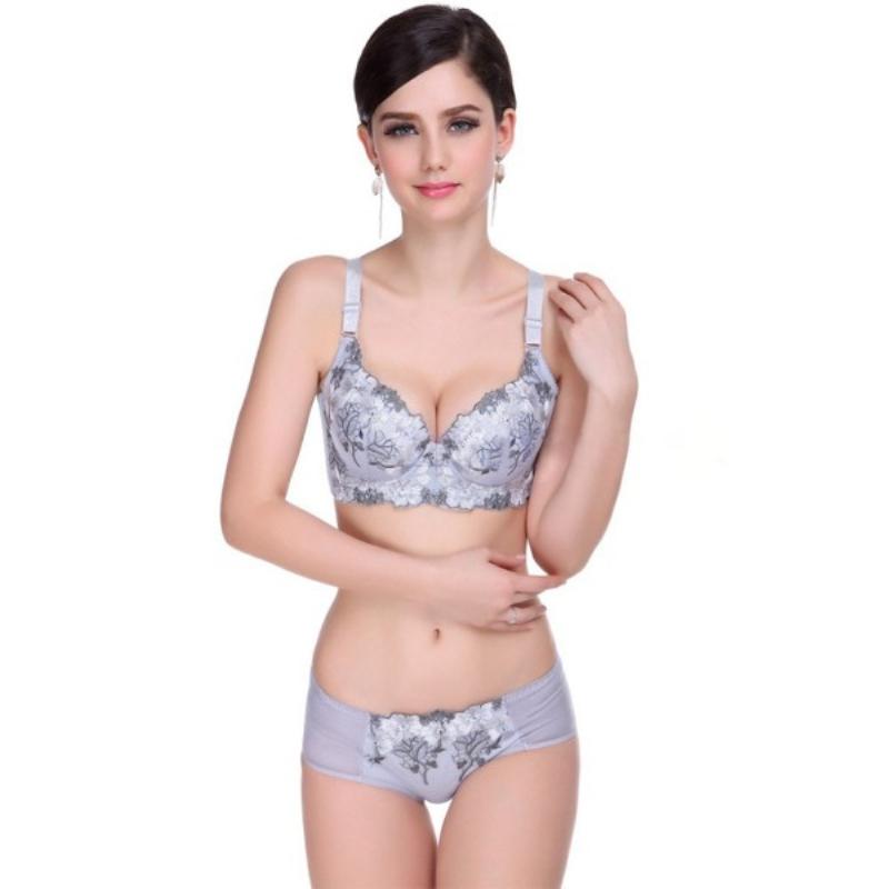 Lace Lingerie Women Bra Set Push Up Triumph Bra Sets Brand Cute lingerie Bra Brief Sets(China (Mainland))