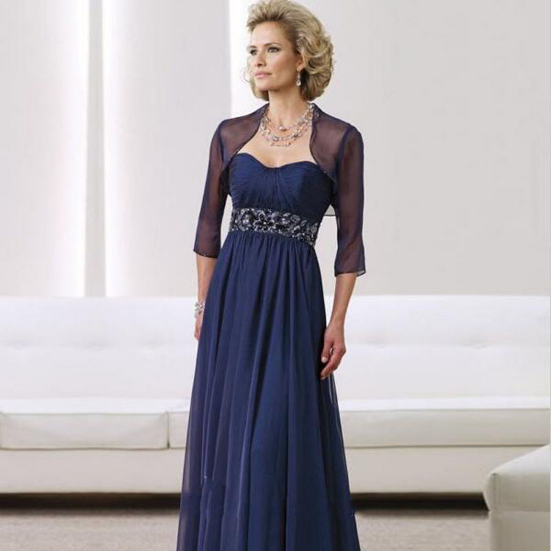 Popular Gauze Mother of The Bride Dresses-Buy Cheap Gauze Mother ...