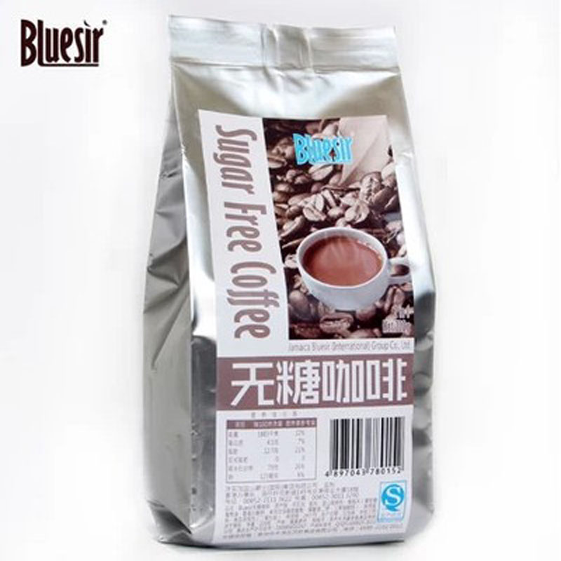 Sugar free coffee 2 in 1 instant coffee blue mountain coffee instant coffee powder imported from