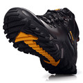 Men Snow Boots Outdoor Men Water Resistant Warm Walking Shoes Mens Shoes Casual Plush Leather Boots