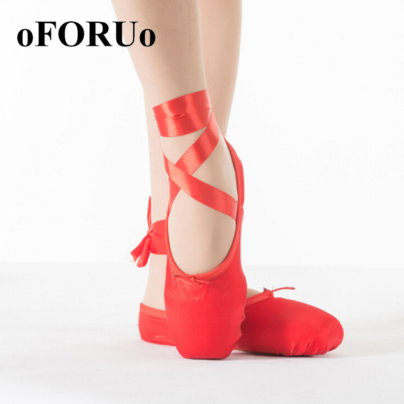 2016 Hot Child and Adult ballet pointe dance shoes ladies professional ballet dance shoes Quality satin with ribbons shoes woman(China (Mainland))