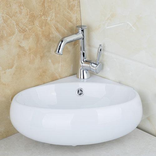 Aliexpresscom Compre Ouboni pia do banheiro Torneira Torneira Cozinha boa q -> Pia Para Banheiro De Ceramica