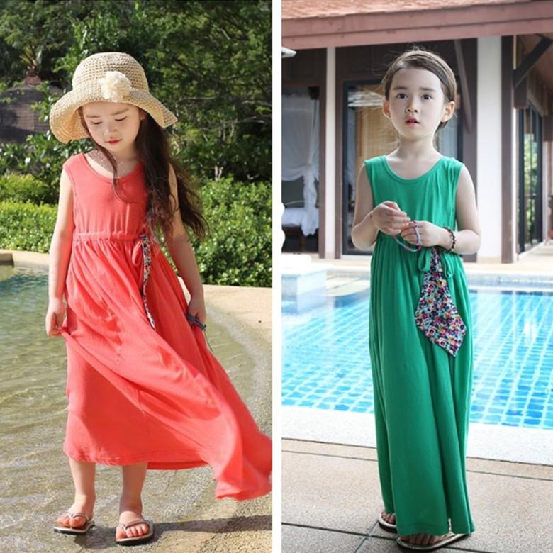 Assez Robe longue ete fille | La mode des robes de France JN98