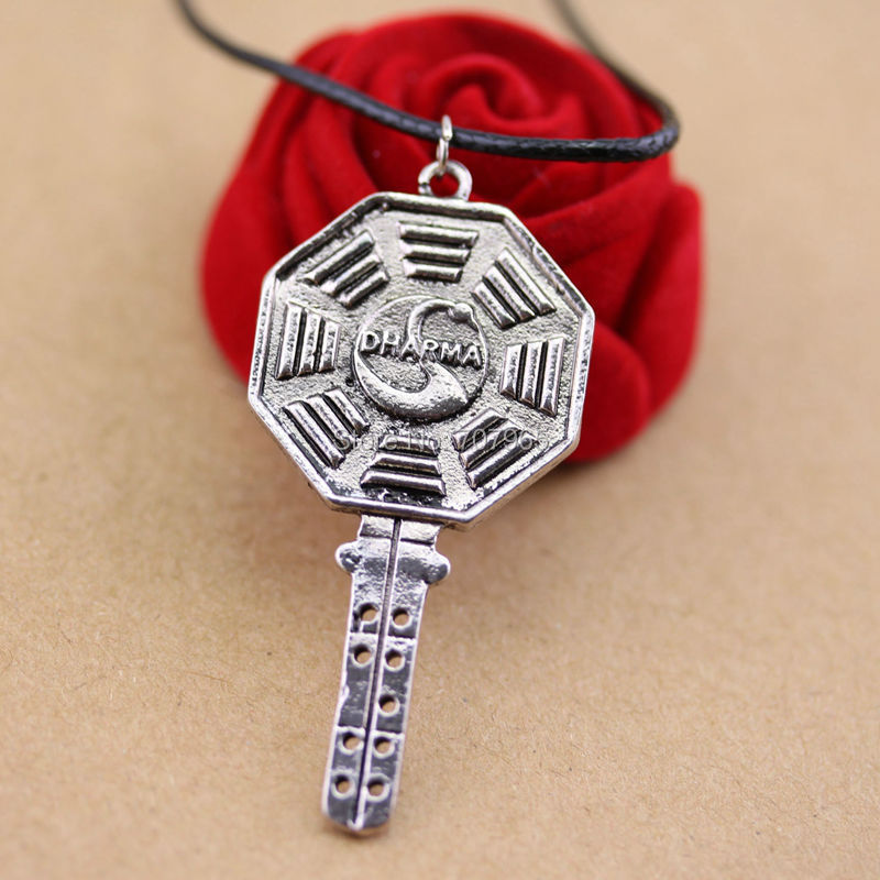 Dharma Initiative Logo LOST Fashion Pendant Necklace Top quality(China (Mainland))