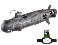 Free shipping+Electronic 2014 New Remote Control Toys SSN-21 13000 US SEAWOLF Remote Control 6-Channel 35cm RC Nuclear Submarine