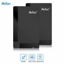 Original Netac K218 External Hard Drive 1TB 500GB HDD USB 3.0 Externo Disco HD Disk Storage Devices Laptop Desktop Hard Disk 1tb(China (Mainland))