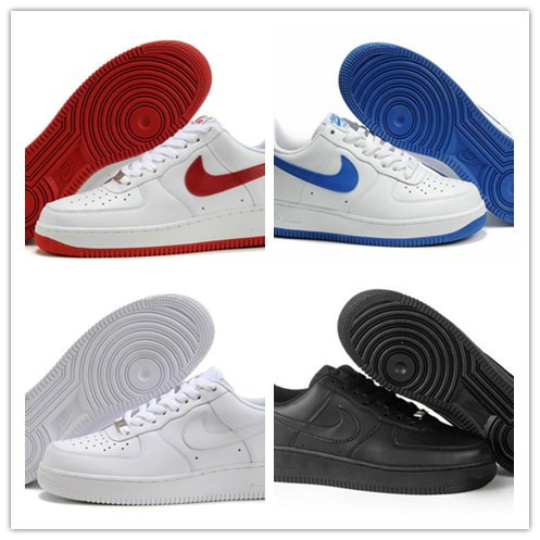 NikiNgs AIRlis forces 1 Men and Women red airmaxs black and white nikings forces 1 ONE Runing+shOe size 36-45 free Shipping(China (Mainland))