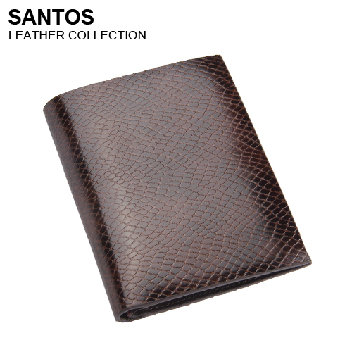 Santos Free Shipping + Snake Pattern Wallet + Leather Bifold Purse + Man Fashion Wallet SAQBS025-Z