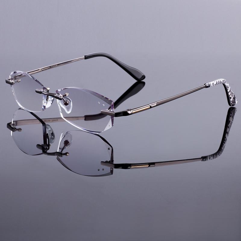 New Glasses Frame Adjustment : New Phantom Men Rimless Frames Women Titanium Alloy ...