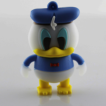 Wholesale 10pcs/lot cartoon cute Donald Duck shape pendrive memory stick usb flash drive pen drive u disk 2G/4G/8G/16G/32G(China (Mainland))