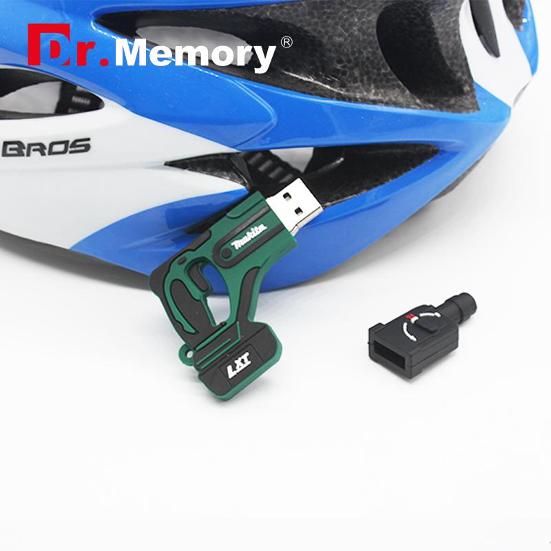 USB Flash Drive Dr.memory Plastic Churn drill USB Disk 4gb 8gb 16gb 32gb Pen Drive Hot sale Flash USB cool U disk(China (Mainland))