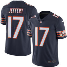 2016 Rush Limited Men's Chicago Bears Alshon Jeffery Navy Color Top Quality,camouflage(China (Mainland))
