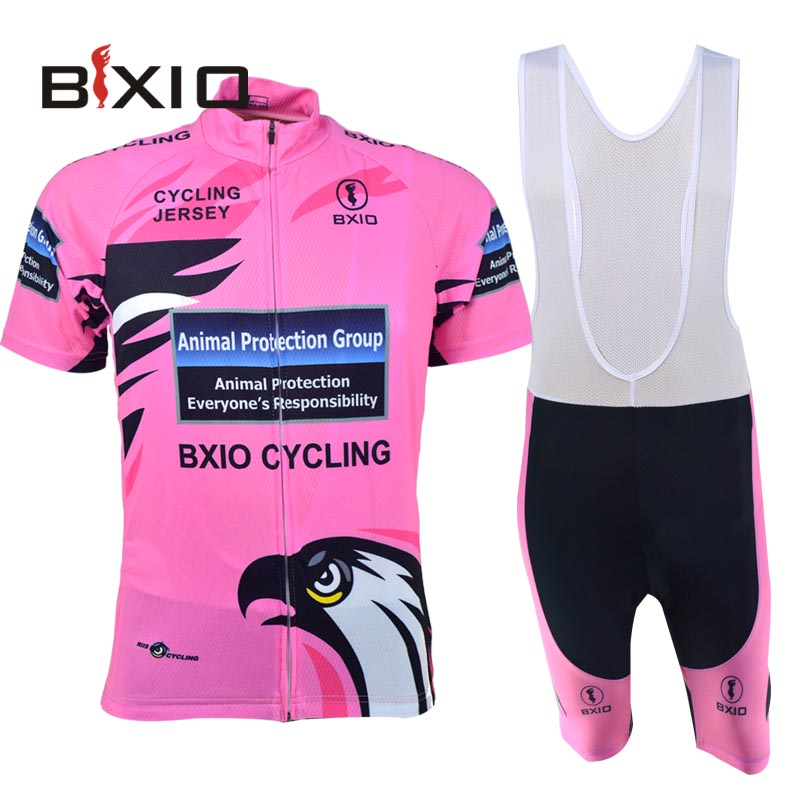 Women Cycling Clothing Bike Sportswear Summer Short Sleeve Bicycle Jersey Breathable Pink Jerseys Hot Popular Bxio BX-0209R067(China (Mainland))
