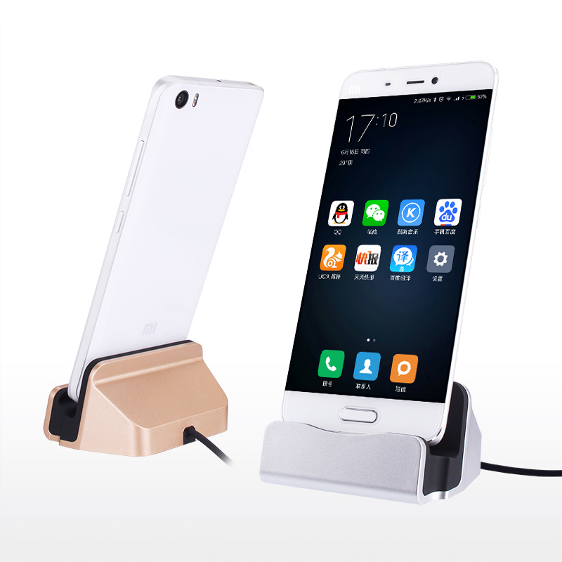 USB Type C Cable Charging Dock For Samsung GALAXY <font><b>Note</b></font> <font><b>7</b></font> huawei P9 Xiaomi 5 M5 4C OnePlus 2 3 Lumia 950 Station Docking Charger