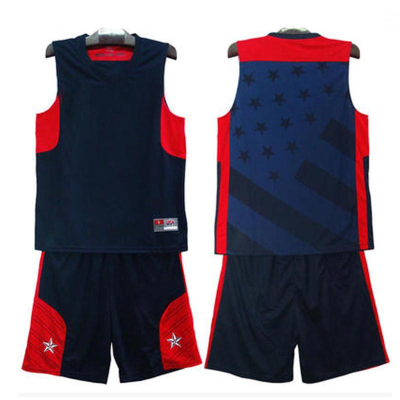 2016 new HOT Dream Team Jersey,Men Team USA Throwback Jersey White Black Size XL-5XL Free Shipping(China (Mainland))