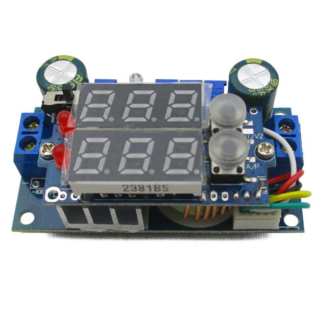 50PCS/LOT MPPT Solar Controller DC 6-36V to 1.25-32V 5A Step-Down Constant Voltage Constant Current Module Voltage converter(China (Mainland))