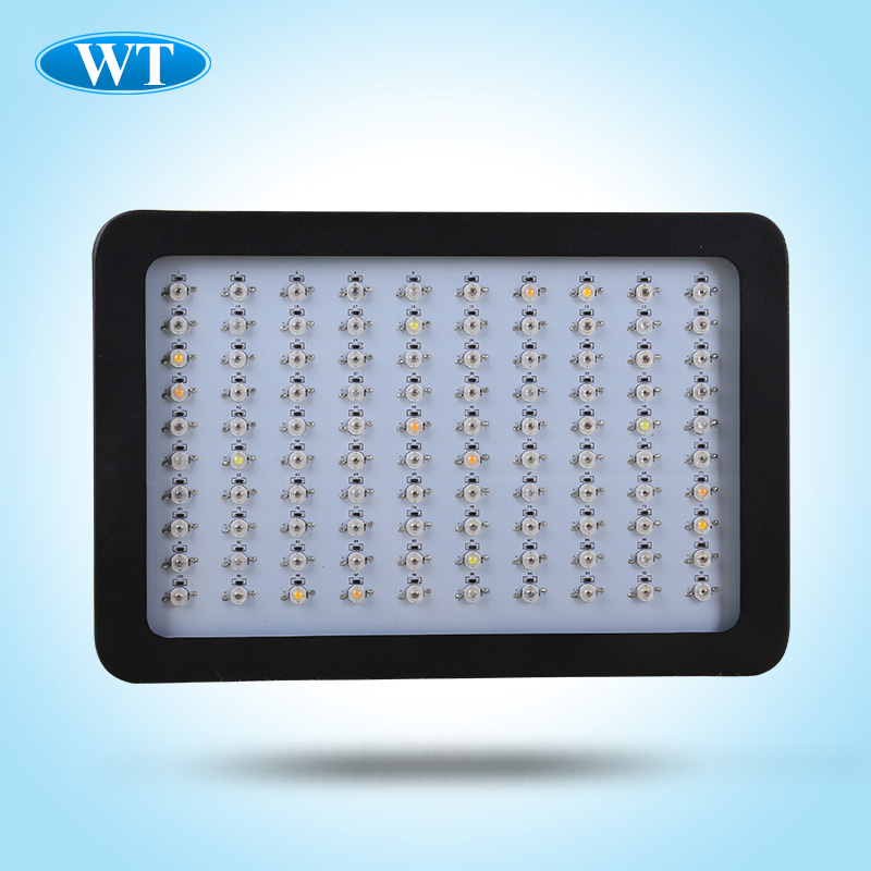 2015 Best LED Grow Light 300W Full Spectrum 6 Band 100pcs x 3W Chip Free Hanging Kit For Hydroponics (Stock in USA,AU,RU)(China (Mainland))