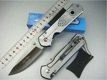 Envío gratis 440 hoja OEM Chris laborea el F-32 NVK herramientas que acampan herramienta de supervivencia exterior cuchillos del cuchillo de bolsillo