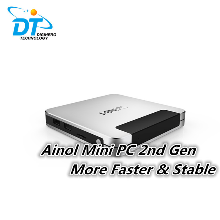 Free Mouse Ainol Mini PC II - Upgrade Stable Quad Core Z3735F 32GB Windows&Android Dual OS 7000mah Power bank Activated TV BOX(China (Mainland))