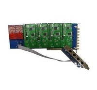 8 ports Asterisk GSM PCI card compatible with Diguim TDM 400P & 400E, access of GSM cdma pstn phone