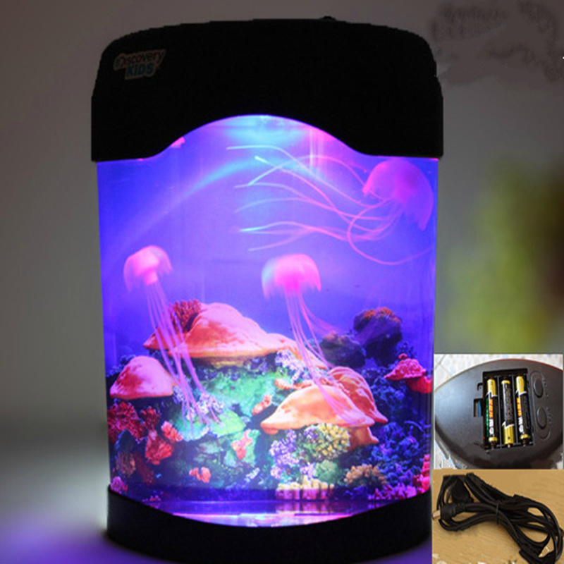 Buy novelty colorful electronic fish for Fish tank night light