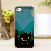 PZ0004-52-2 For Dragon Cartoon Design Customized cellphone transparent cover cases for iphone 4 5 5c 5s 6 6plus Hard Shell