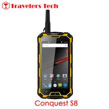 Buy Unlocked 5.0 Inch Smartphone Conquest S8 IP68 Waterproof Rugged Phone 6000mAH 3GB+32GB Walkie Talkie OTG NFC Conquest S6 Killer for $435.00 in AliExpress store