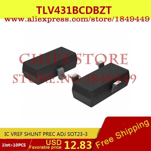 Бесплатная Доставка Регулятор Напряжения TLV431BCDBZT IC VREF ШУНТ PREC ADJ КОРПУСЕ SOT23-3 431 TLV431 10 ШТ. shell spirax s3 tlv