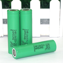 1 New Original 18650 2500mAh Rechargeable battery INR1865025R 3.6V discharge 20A Power Samsung - LiitokalaVariCoreFlagship Store store