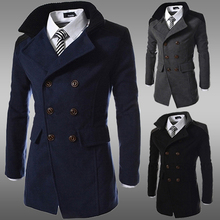 Free Shipping 2015 autumn winter new fashion Korean version slim men s casual turn down collar