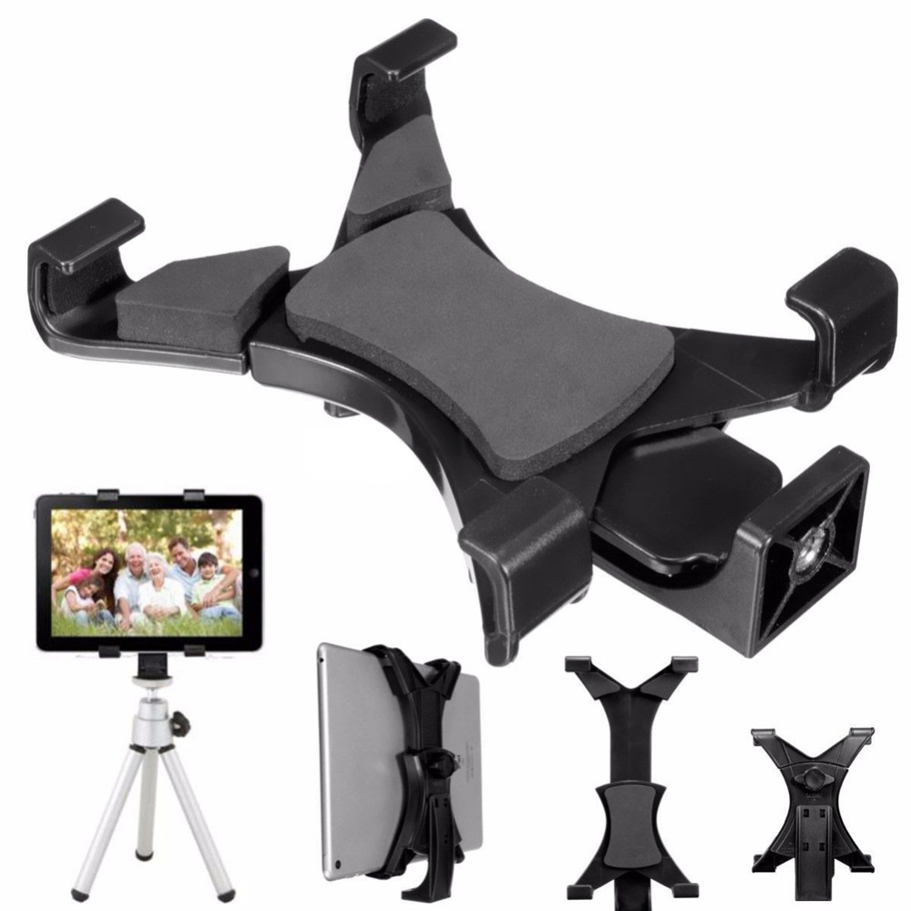 """Universal Tripod Mount Holder Bracket 1/4""""Thread Adapter For 7""""~10.1""""for iPad(China (Mainland))"""