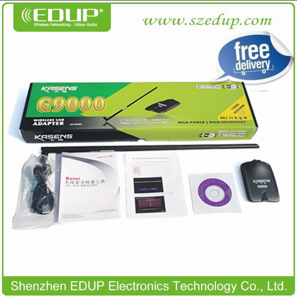 Kasens KS-G9000 150Mbps High Power Wireless Wifi USB Adaprer with Chipset Realtek8187L(China (Mainland))