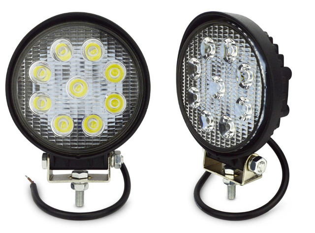 Led Lights For Tractor Trailers : Pcs perfect v w led work light waterpoof ip driving