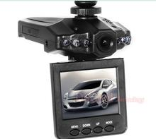 100PCS Wholesale Discount Promotion H198 Car DVR Camera Recorder with LED Night Vision and 2.5'' TFT Colorful Screen(China (Mainland))