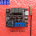 W1209 Blue LED DC 12V heat cool temp thermostat temperature control switch temperature controller thermometer thermo